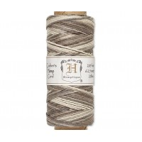 1mm Multicolor Gray Polished Hemp Cord by Hemptique