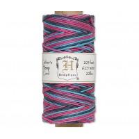1mm Multicolor Party Polished Hemp Cord by Hemptique