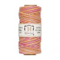 1mm Multicolor Taffy Polished Hemp Cord by Hemptique