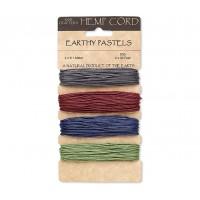 1mm Dark Mix Multicolor Set Hemp Cord by Hemptique
