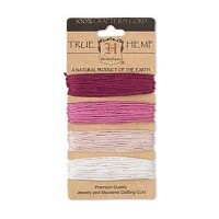 1mm Ruby Shades Multicolor Set Hemp Cord by Hemptique