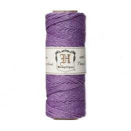 1mm Lavender Polished Hemp Cord by Hemptique