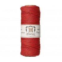 1mm Red Polished Hemp Cord by Hemptique