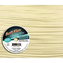 .019 Bone Soft Flex® Beading Wire