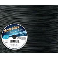 .024 Black Soft Flex® Beading Wire, 30 Foot Spool