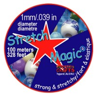 1mm Clear Stretch Magic Beading Cord 100m Spool