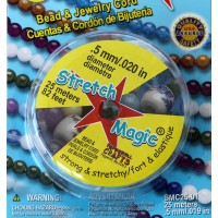 0.5mm Clear Stretch Magic Beading Cord 25m Spool