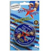 0.5mm Pearl Stretch Magic Beading Cord 10m Spool