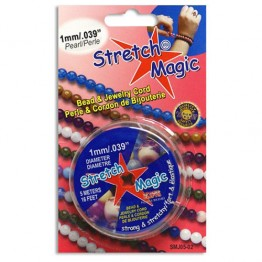 1mm Pearl Stretch Magic Beading Cord 5m Spool