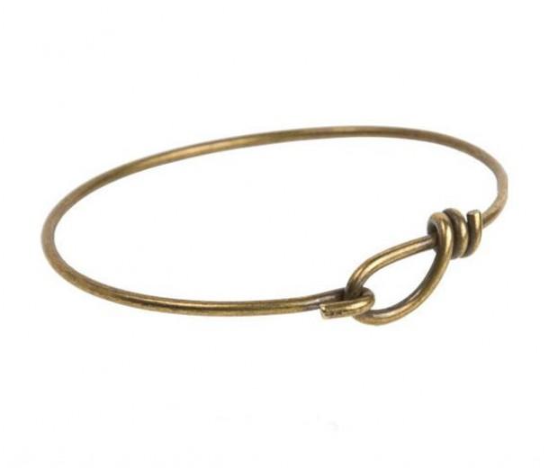 Wire Bangle Bracelet By Tierracast