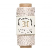 0.5mm White Natural Hemp Cord by Hemptique