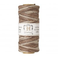 1mm Multicolor Earthy Polished Hemp Cord by Hemptique