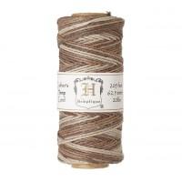 1mm Multicolor Earthy Polished Hemp Cord by Hemptique