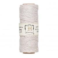 1mm White Polished Hemp Cord by Hemptique