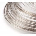 Steel Memory Wire, Rhodium Finish, 55mm Coil Diameter