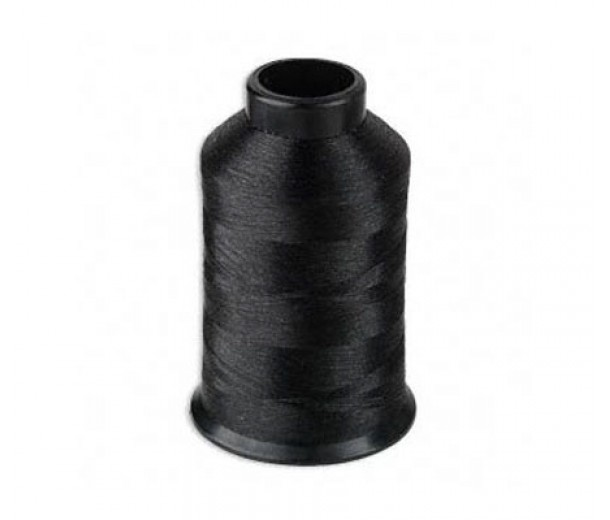 Size D Black Nylon Nymo Thread, 3 oz Spool