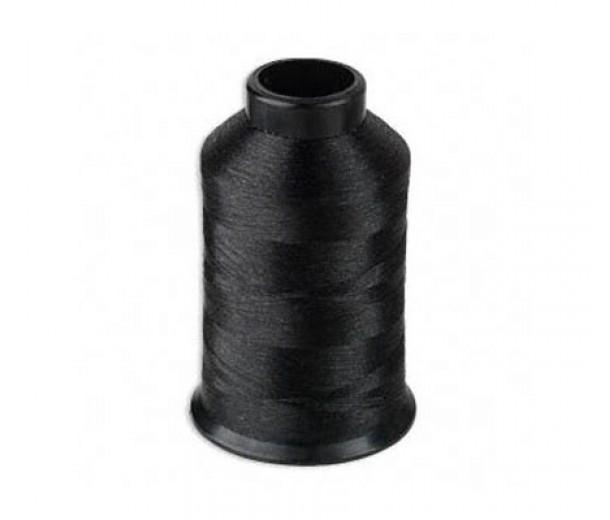 Size D Black Nylon Nymo Thread, 3 oz Spool