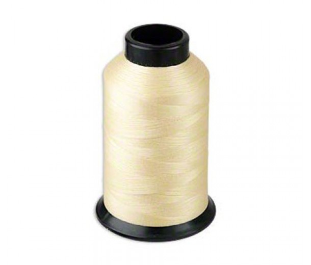 Size D Light Tan Nylon Nymo® Thread, 3 oz Spool