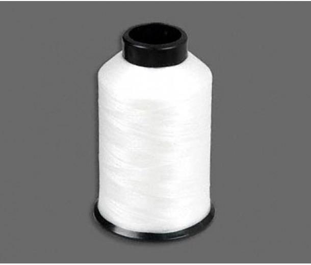 Size D White Nylon Nymo Thread, 3 oz Spool