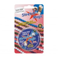 1mm Clear Stretch Magic Beading Cord 5m Spool