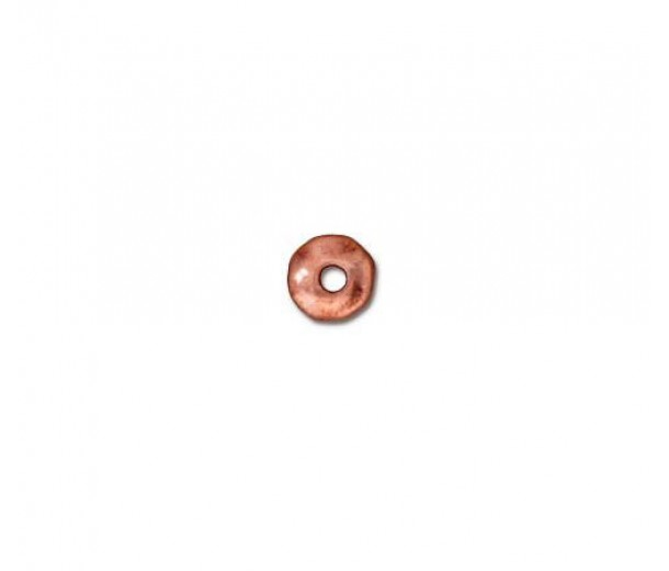 5mm Nugget Beads by TierraCast, Antique Copper, Pack of 20
