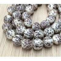 Salwag Beads, Natural, 10mm Round