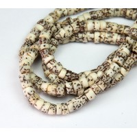Salwag Beads, Natural, 6x5mm Pucalet