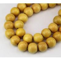 Jackfruit Wood Beads, 12mm Round