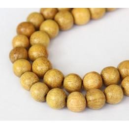 Jackfruit Wood Beads, 8mm Round