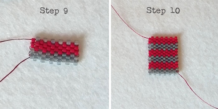Tutorial How To Do Flat Even Count Peyote Stitch Golden