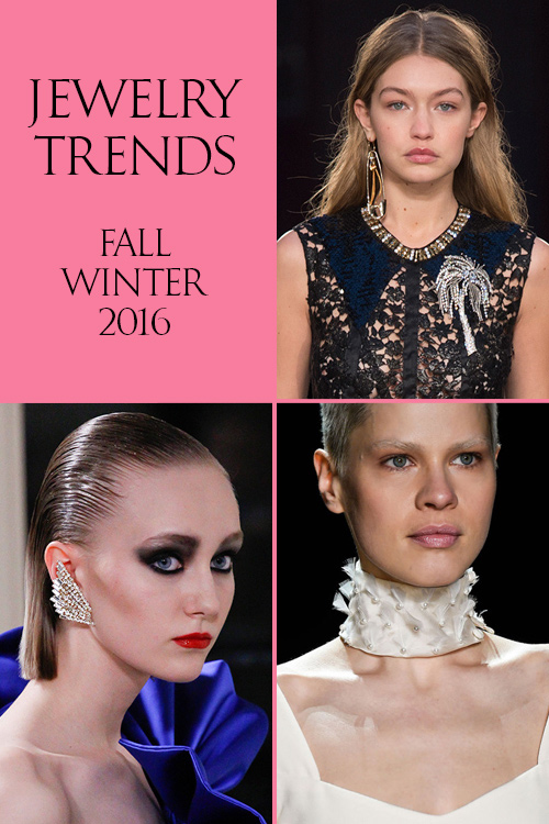 Fall / Winter 2016 Jewelry Trends
