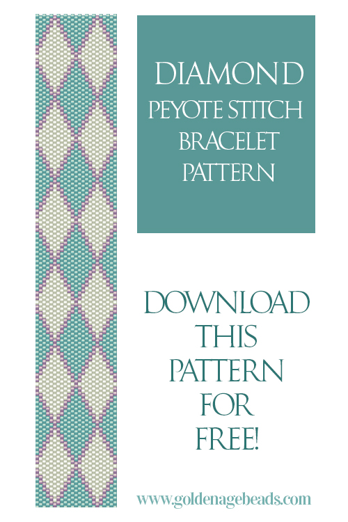 This Pattern Uses The Odd Count Peyote Sch Technique As There Are 23 Beads In Each Row Is Similar To Flat Even