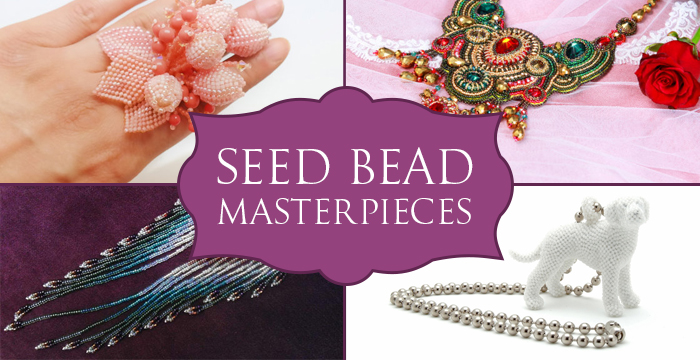 A Showcase Of Seed Bead Masterpieces Golden Age Beads