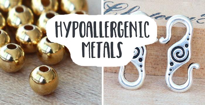Hypoallergenic Metals for Sensitive Skin | Golden Age Beads